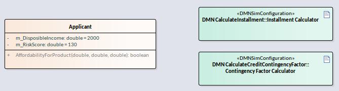 Integrate DMN Module Into UML Class Element | Enterprise ...