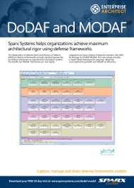 DoDAF and MODAF with Enterprise Architect