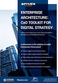Enterprise Architecture: CxO toolkit for digital strategy