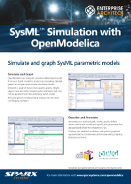 SysML Simulation with OpenModelica