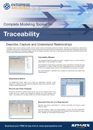 Modeling Toolset for Traceability