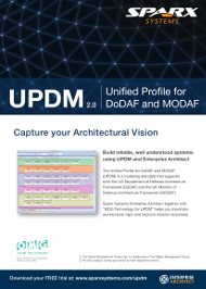 Unified Profile for DoDAF and MODAF (UPDM) with Enterprise Architect