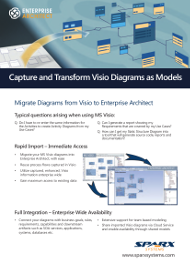 Capture and Transform Visio Diagrams as Models